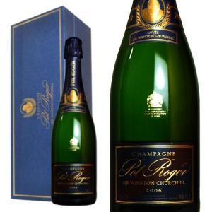 シャンパン ポル・ロジェ キュヴェ・サー・ウィンストン・チャーチル ブリュット ミレジム2006年 箱入り 正規 750ml (シャンパーニュ 白)|wineuki