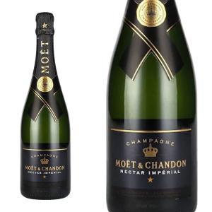 モエ・エ・シャンドン ネクター アンペリアル 750ml 正規 箱なし AOCシャンパーニュ (フランス シャンパン)|wineuki