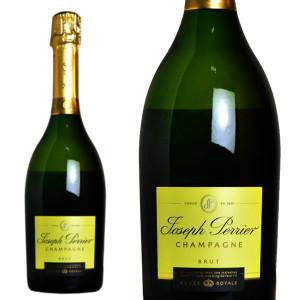 シャンパーニュ ジョセフ・ペリエ キュヴェ・ロワイヤル ブリュット 750ml 正規 (シャンパン 白 箱なし) 6本お買い上げで送料無料&代引手数料無料|wineuki