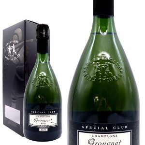 シャンパン グロンニェ スペシャル・クラブ ブリュット ミレジム2010年 750ml 箱入り (フランス シャンパーニュ 白)|wineuki