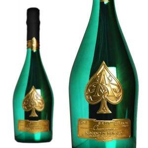 シャンパーニュ アルマン・ド・ブリニャック ブリュット グリーン マスターズゴルフトーナメント記念ボトル 750ml 12月2日以降の出荷 wineuki