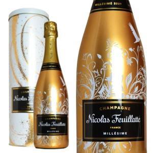シャンパン ニコラ・フィアット アンシャントメント スペシャルエディション 2009年 メタルボックス入り 750ml 正規 (フランス シャンパーニュ 白)|wineuki