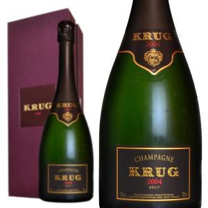シャンパン クリュッグ ブリュット 2004年 箱入り 75...