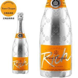 シャンパン クリコ シャンパーニュ シャンパン ヴーヴ・クリコ リッチ 750ml 正規 (フランス シャンパーニュ 白 箱なし) wineuki