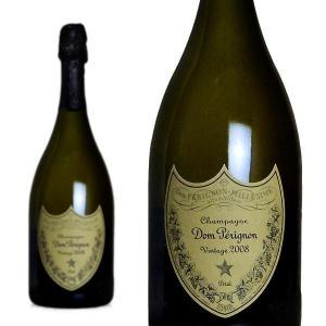 ドンペリ シャンパン ドンペリニヨン 2008年 750ml 正規 (フランス シャンパーニュ 白 箱なし)|wineuki