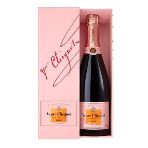 ヴーヴ・クリコ ロゼ ローズラベル ボックス入り (フランス・シャンパン)|wineuki