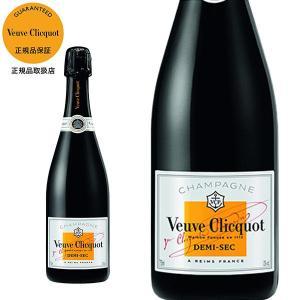 シャンパーニュ ヴーヴ・クリコ ホワイトラベル ドゥミ・セック AOCシャンパーニュ (フランス・シャンパン)