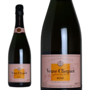 シャンパーニュ ヴーヴ・クリコ ローズラベル・ロゼ・ブリュット 750ml 正規 (シャンパン ロゼ 箱なし)|wineuki
