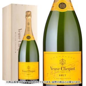 シャンパン クリコ シャンパーニュ シャンパン ヴーヴ・クリコ イエローラベル ブリュット ダブルマグナムサイズ 3000ml 木箱入り 正規 wineuki