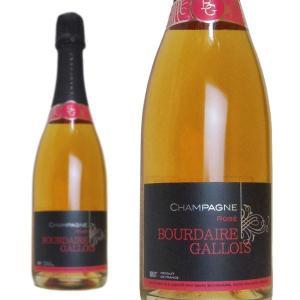 シャンパン ブールデール・ガロワ ロゼ エクストラブリュット 750ml (フランス シャンパーニュ...