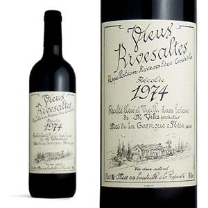 リヴザルト 1974年 ドメーヌ・サント・ジャクリーヌ 750ml (フランス 赤ワイン) wineuki