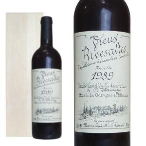 リヴザルト 1989年 ドメーヌ・サント・ジャクリーヌ 木箱入り 750ml (フランス 赤ワイン)|wineuki