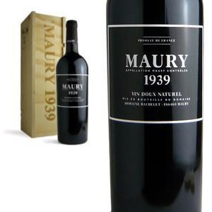 モーリー 1939年 ドメーヌ バシュレ 木箱入り AOCモーリー (フランス・赤ワイン)|wineuki