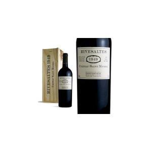 リヴザルト 1949年 シャトー・サン・ミシェル AOCリヴザルト 木箱入り (フランス・赤ワイン)|wineuki