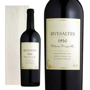 リヴザルト 1940年 シャトー・シスケイユ 750ml (フランス ラングドックルーション 赤ワイン) wineuki