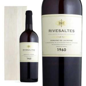 リヴザルト 1960年 ドメーヌ・ラクレッセ 木箱入り 750ml (フランス 赤ワイン) wineuki