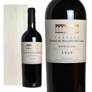 リヴザルト 1949年 シャトー・プリウール・デュ・モナスティール・デル・カンプ 木箱入り (フランス・赤ワイン) wineuki