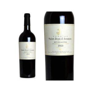 リヴザルト 1953年 ドメーヌ・サン・ジャン・ダラモン 750ml (フランス 赤ワイン)|wineuki