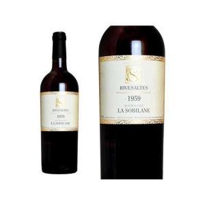 リヴザルト 1959年 ドメーヌ・ラ・ソビレーヌ 750ml (フランス 赤ワイン)|wineuki