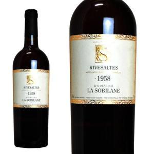 リヴザルト 1958年 ドメーヌ・ラ・ソビレーヌ 750ml (フランス 赤ワイン)|wineuki
