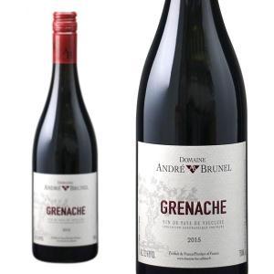 ヴォークリューズ・ルージュ・グルナッシュ 2013年 ドメーヌ・アンドレ・ブルネル 750ml (フランス ローヌ 赤ワイン)|wineuki