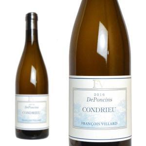 コンドリュー ドポンサン 2016年 ドメーヌ・フランソワ・ヴィラール 750ml (フランス ローヌ 白ワイン)|wineuki