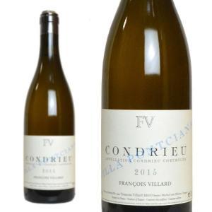 コンドリュー ヴィッラ・ポンシアナ 2015年 ドメーヌ・フランソワ・ヴィラール 750ml (フランス ローヌ 白ワイン)|wineuki