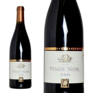 アルデッシュ ピノ・ノワール 2016年 ヴィニュロン・アルデショワ生産組合 750ml (フランス ローヌ 赤ワイン)|wineuki