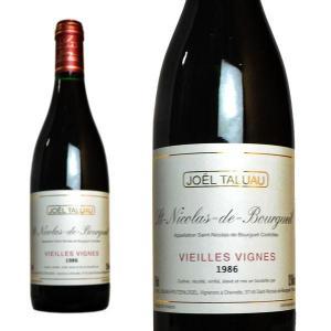 サン・ニコラ・ド・ブルグイユ ヴィエイユ・ヴィーニュ 1986年 ドメーヌ・ジョエル・タリュオー 750ml (フランス ロワール 赤ワイン)|wineuki