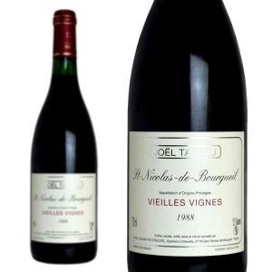 サン・ニコラ・ド・ブルグイユ ヴィエイユ・ヴィーニュ 1988年 ドメーヌ・ジョエル・タリュオー 750ml (フランス ロワール 赤ワイン)|wineuki