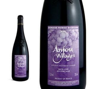 アンジュ・ヴィラージュ 2002年 ドメーヌ パトリック・ボードアン AOCアンジュ・ヴィラージュ (フランス・赤ワイン)|wineuki