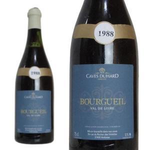 ブルグイユ 1988年 カーヴ・デュアール(ダニエル・ガテ) 750ml (フランス ロワール 赤ワイン)|wineuki