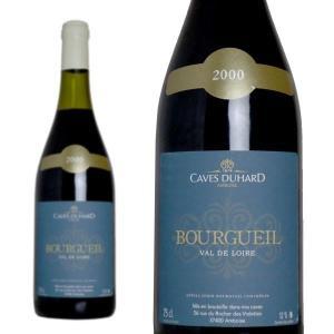 ブルグイユ 2000年 カーヴ・デュアール(ダニエル・ガテ) 750ml (フランス ロワール 赤ワイン)|wineuki