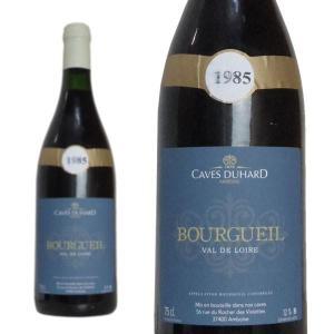ブルグイユ 1985年 カーヴ・デュアール(ダニエル・ガテ) 750ml (フランス ロワール 赤ワイン)|wineuki