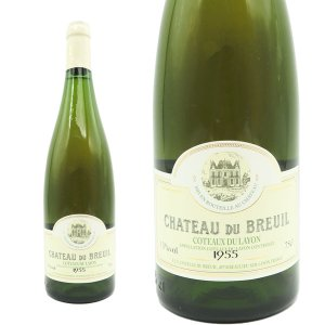 コトー・デュ・レイヨン ボーリュー ヴィエイユ・ヴィーニュ 1955年 シャトー・デュ・ブルイユ 750ml (フランス ロワール 白ワイン)|wineuki