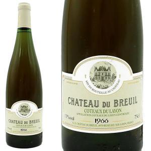コトー・デュ・レイヨン ボーリュー ヴィエイユ・ヴィーニュ 1966年 シャトー・デュ・ブルイユ 750ml (フランス ロワール 白ワイン) wineuki