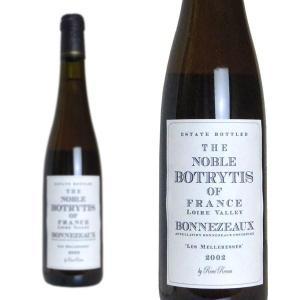 ボンヌゾー ザ・ノーブル・ボトリティス レ・メルレッス 2002年 ルネ・ルヌー 375ml (フランス ロワール 白ワイン)|wineuki