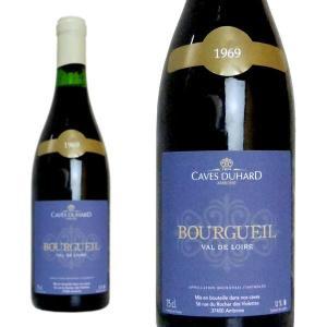 ブルグイユ 1969年 カーヴ・デュアール(ダニエル・ガテ) 750ml (フランス ロワール 赤ワイン) wineuki