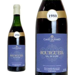 ブルグイユ 1980年 カーヴ・デュアール(ダニエル・ガテ) 750ml (フランス ロワール 赤ワイン)|wineuki