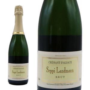 クレマン・ド・アルザス クロ・デ・パイアン ブリュット 1998年 セッピ・ランドマン (フランス スパークリングワイン 白)|wineuki