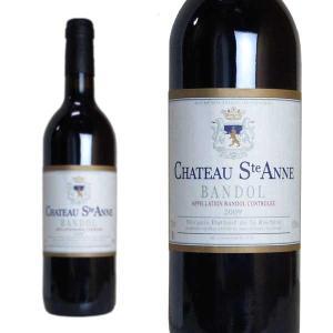 バンドール ルージュ 2009年 シャトー・サンタンヌ 750ml (フランス プロヴァンス 赤ワイン)|wineuki