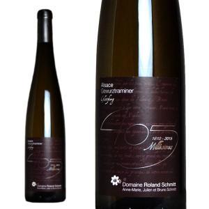 アルザス ゲヴュルツトラミネール グリンツベルグ 405 ミレジム 2015年 ドメーヌ・ローラン・シュミット 750ml (フランス アルザス 白ワイン)|wineuki