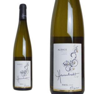 アルザス リースリング オリジン 2015年 クロード&ジョルジュ・ウンブレヒト 750ml (フランス アルザス 白ワイン)|wineuki