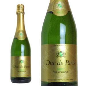 デュック・ド・パリ ブリュット ブラン・ド・ブラン (フランス・スパークリングワイン)|wineuki