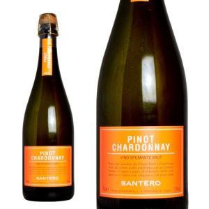 サンテロ ピノ シャルドネ スプマンテ 750ml (イタリア ピエモンテ スパークリングワイン 白)|wineuki