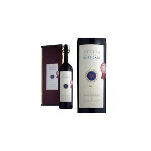 グラッパ・バリーリ・ディ・サッシカイア 2005年 サッシカイア醸造&ヤーコポ・ポリ社蒸留 ギフトボックス入り (イタリア・グラッパ)|wineuki