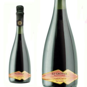 レ・グロッテ レッジャーノ ランブルスコ ロッソ ドルチェ メディチ・エルメーテ (赤ワイン スパークリング) 12本お買い上げで送料無料|wineuki
