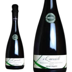 メディチ・エルメーテ クエルチオーリ レッジアーノ ランブルスコ セッコ NV 正規 750ml (イタリア スパークリングワイン 赤)|wineuki