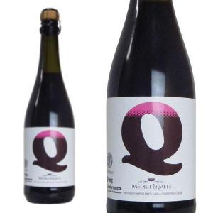 ランブルスコ キューイング NV メディチ・エルメーテ 750ml 正規 (イタリア 赤ワイン スパークリングワイン)|wineuki