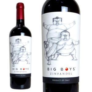 ビッグボーイズ ジンファンデル 2017年 マーレ・マンニュム 750ml (イタリア 赤ワイン)|wineuki